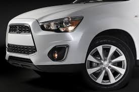mitsubishi sports car white 2013 mitsubishi outlander sport recalled for airbag issue