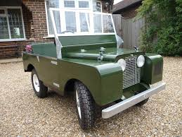 land rover series 1 toylander series 1 land rover child u0027s ride on car in hailsham