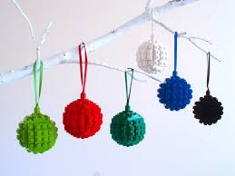 make your own lego ornaments and impress your friends