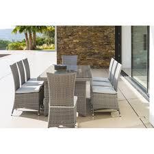 chaise tress e stunning salon de jardin aluminium resine gallery amazing house