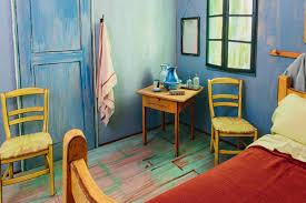 van gogh bedroom painting famous van gogh painting is turned into a real bedroom to rent on airbnb