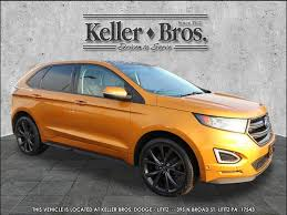 used crossover cars used 2015 ford edge sport for sale r2238 lititz pa serving