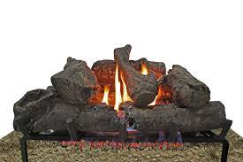 24 u201d vent free gas log thermablaster