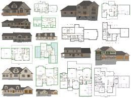 Blueprint For Houses by Ez House Plans