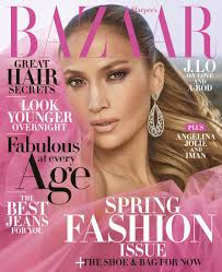 best hairstyles for a 48 year old jennifer lopez covers harper s bazaar april issue
