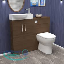 online bathroom store 500mm walnut mini vanity unit optional btw