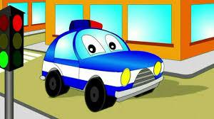 a police car a train a submarine videos for children videos