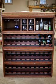 charming wooden liquor cabi ikea plus wine rack and for home