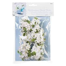 floral picks hydrangea floral picks white