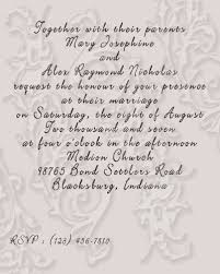 Wedding Invitations Sayings Wedding Invitations Wording Examples Wedding Love Pinterest