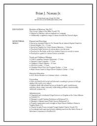 Job Resume Best by Pastoral Resume Best Resume Templates O Copy Com