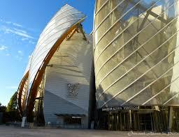 fondation louis vuitton frank gehry u0027s inspirational parisian