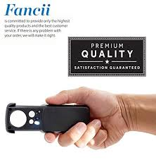 pocket magnifier with light fancii led lighted slide out pocket magnifier 10x 20x and 30x