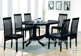Black Dining Table With Leaf Dining Table Stools Set U2013 Zagons Co