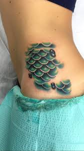 mermaid scale tattoo designs mermaid scale tattoo design of
