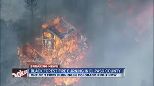 Wildfire Northern Colorado by Black Forest Fire Evacuation Zone Grows Youtube