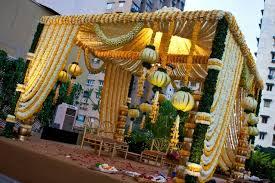 hindu wedding mandap decorations soma sengupta indian wedding decorations serene industrial zen