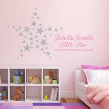 monogram wall decals for nursery twinkle twinkle little star do you know how loved you are