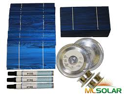 amazon com 500 prime solar cell diy kit with solar tabbing bus