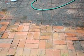 How To Clean Paver Patio by Cleaning Your Weatherworn Patio Pathway Cafe