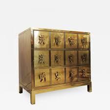 mastercraft mastercraft brass chest with asian motif