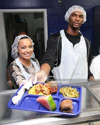 thanksgiving families chris bosh and team tomorrow inc team up for the 2nd year with