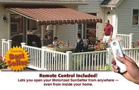 Sunsetter Awning Reviews Amazon Com 20 U0027 Sunsetter Motorized Xl Available Retractable