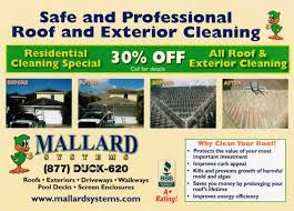 Pressure Washing Estimate by Pressure Washing Deals Roof Cleaning Specials Roof Cleaning Coupon