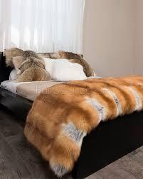 Faux Fur Throw Rugs Full Pelt Red Fox Fur Blanket Fur Throw Fursource Com
