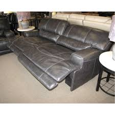 Reclining Leather Sofa Reclining Leather Sofa W Power M004 Pf Pc Sp0d 0r Charcoal