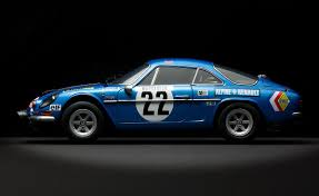 alpine a110 renault alpine a110 rally version