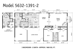 Oakwood Floor Plans by 1997 Oakwood Mobile Home Floor Plan Modern Modular Home 1997