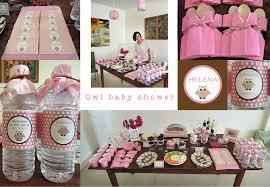 owl baby shower ideas home design