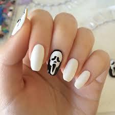 dripping blood u2013 halloween nail art scream u2013 itslittledaisies