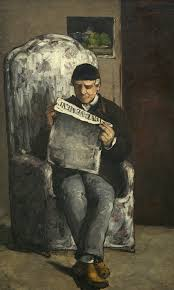 Madame Cezanne In A Red Armchair Self Portraits By Cézanne Go On Public Display For The First Time
