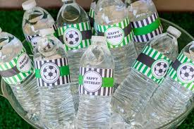 soccer party ideas soccer party birthday party ideas photo 5 of 11 catch my party