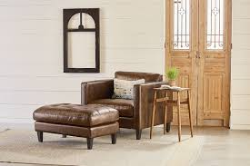 leather chair living room living room magnolia home