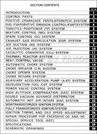 1977 1977 5 toyota emission control repair manual original no 98159