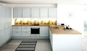 cuisine blanc laqué et bois cuisine blanc laque plan travail bois grille de lzzy co for cuisine