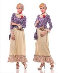 model baju modis dan trendi dengan model baju pesta muslim modern