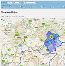 map uk leeds nationwide constituency crime and crime heat maps revealed for the
