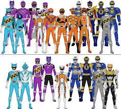 super sentai power rangers assorted colors taiko554