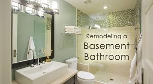 basement bathroom renovation ideas remodeling a basement bathroom 4 great ideas dot