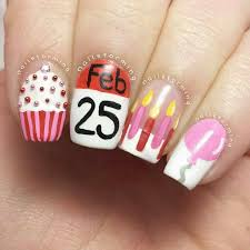 best 25 birthday nail designs ideas on pinterest fun nails