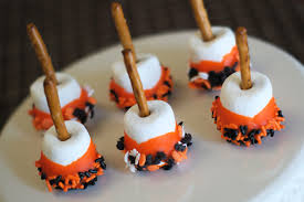 Kraft Halloween Appetizers Holloween Marsmellow Treats Potato Blog Zombies And