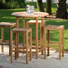 Patio Bar Table Set Outdoor Bar Stool And Table Set Cabinet Hardware Room Finding