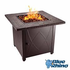 Propane Fire Pit Glass Blue Rhino Propane Gas Fire Pit Ebay