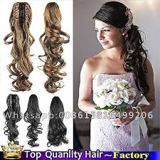 claw hair hairstyles wedding hairstyles new side ponytail wedding hairstyles for long