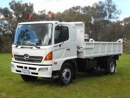 2007 hino fg 1628 500 series tipper wa truck dealers australia
