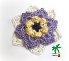 Crochet Designs Flowers 726 Best Crochet Flowers U0026 Leaves Images On Pinterest